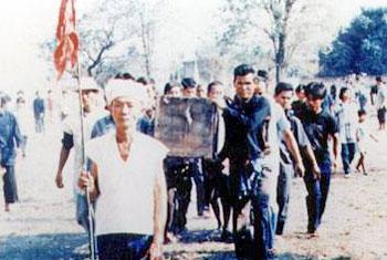 พิธีจัดงานศพของชาวไทยทรงดำ (ไทยโซ่ง)
