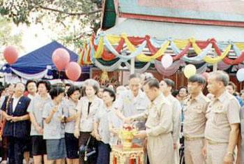 งานสมโภชพระพุทธชินราช วัดพระศรีรัตนมหาธาตุวรมหาวิหาร จังหวัดพิษณุโลก