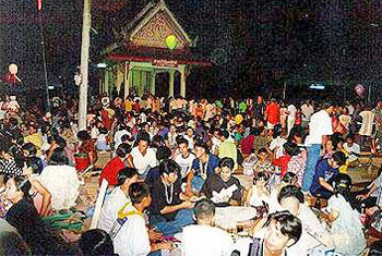 ประเพณีเลี้ยงผีมเหสักข์ ชาวผู้ไทยวาริชภูมิ